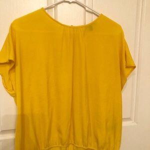 Yellow Banana Republic Shirt